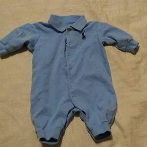 Ralph Lauren infant boy romper